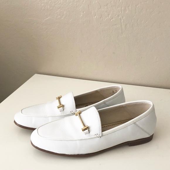 b3c67bcedff Sam Edelman Lior Loafer Flat Bright White Size 5. M 5ac001b59cc7ef575eac7c04